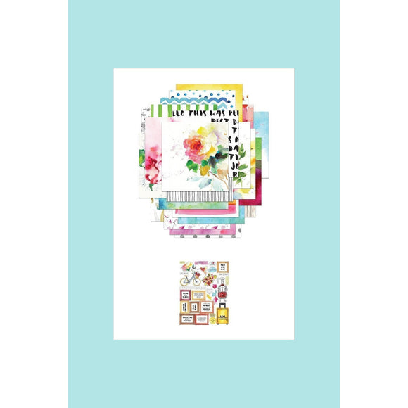 Altenew  - Reflection Collection Paper & Sticker Sheet Bundle