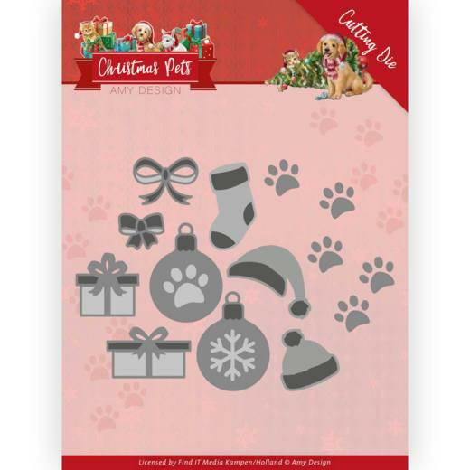 Amy Design - Christmas Pets - Christmas Decorations Dies