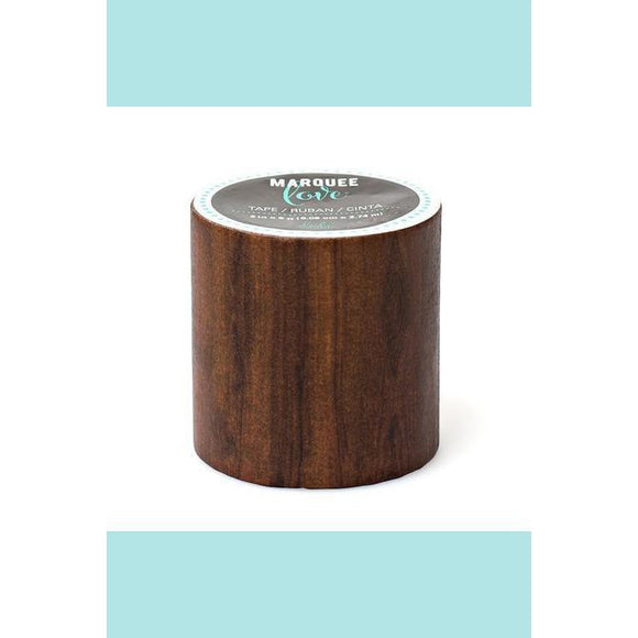 American Crafts - Heidi Swapp - Marquee Washi Tape - Wood Grain Wider 7/8 in