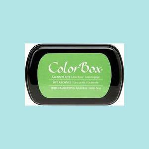 Dark Sea Green Dye Ink: ColorBox® Archival Full Size