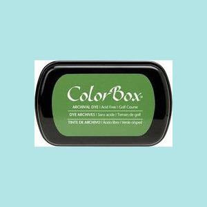 Olive Drab Dye Ink: ColorBox® Archival Full Size