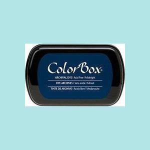 Midnight Blue Dye Ink: ColorBox® Archival Full Size