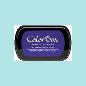 Dark Slate Blue Dye Ink: ColorBox® Archival Full Size