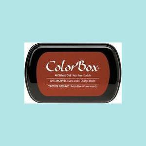 Saddle Brown Dye Ink: ColorBox® Archival Full Size