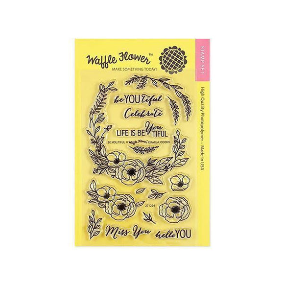 Waffle Flower - Be You Tiful - Stamp Set