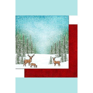 Heartfelt Creation - Winter's Eve Paper Collection - Cardstock