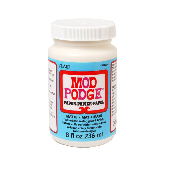 Plaid - Mod Podge Paper Matte 8 oz