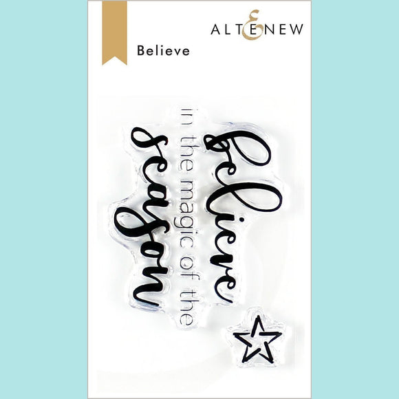 Altenew - Believe Stamp Set
