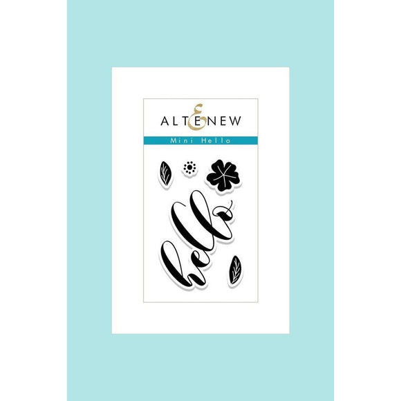 Altenew Mini Hello Stamps