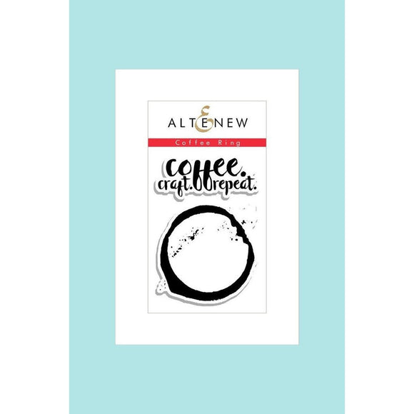 Altenew Mini Coffee Ring Stamp