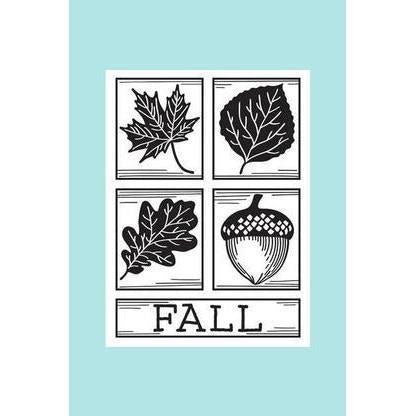 Darice® Embossing Folder - Fall Square