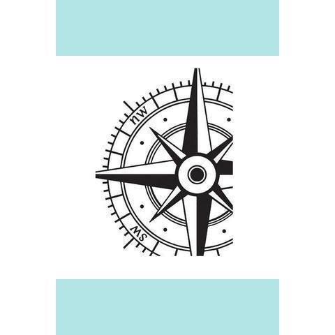 Darice Compass Embossing Folder: 4.25 x 5.75 inches