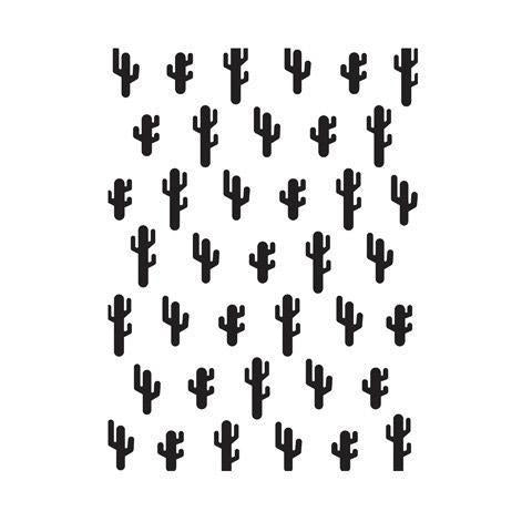 Darice® Embossing Folder - Cactus
