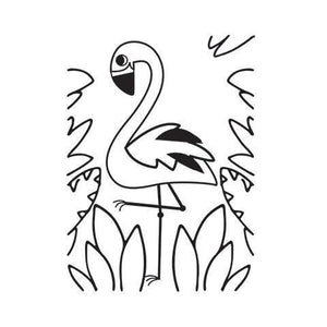 Darice® Embossing Folder - Flamingo