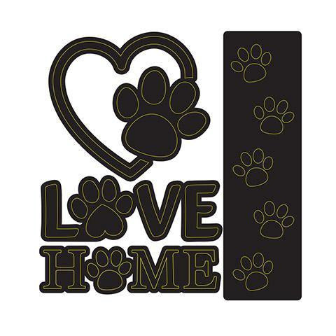 Darice® - Craft Dies: Dog Love Set