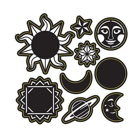 Darice® - Craft Dies: Celestial Assortment Set