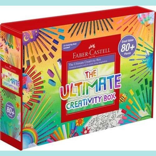 Faber-Castell - The Ultimate Creativity Box - A3 Size - Set of 80 Plus