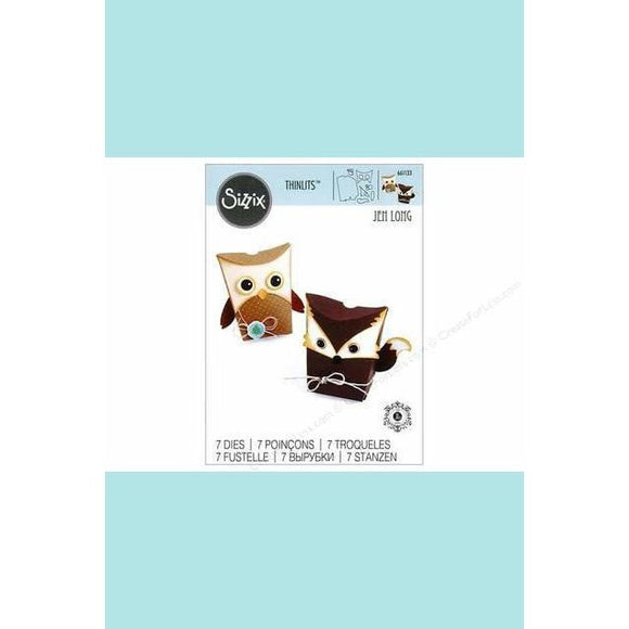 Sizzix Thinlits Die Set -box Owl & Fox Jen Long