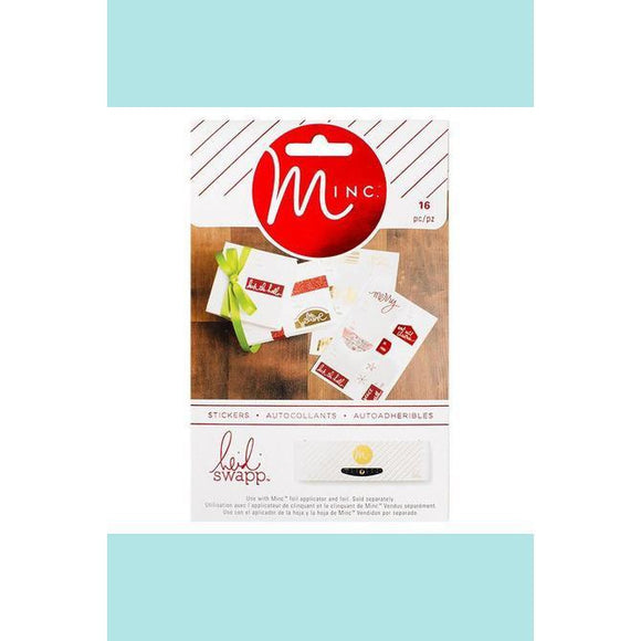 American Crafts - Heidi Swapp - Minc Christmas  To/From Labels
