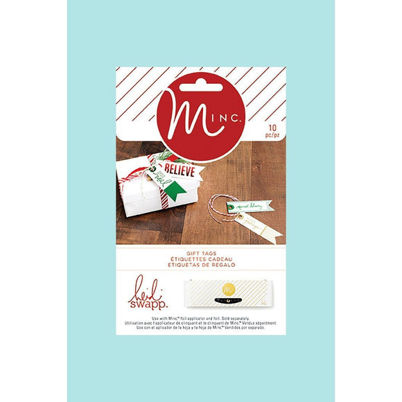 American Crafts - Heidi Swapp - Minc Christmas Banner Tags
