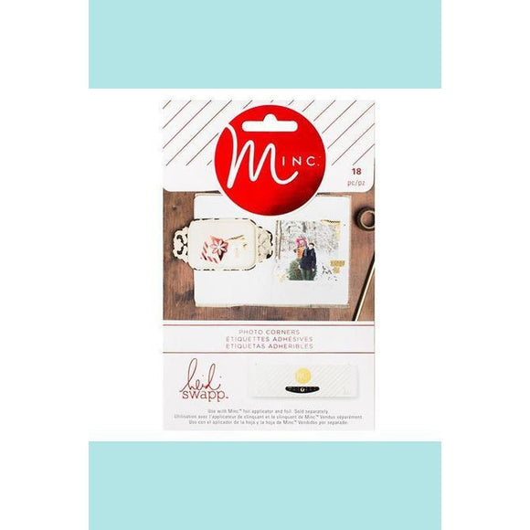 American Crafts - Heidi Swapp - Minc Christmas Photo Corners
