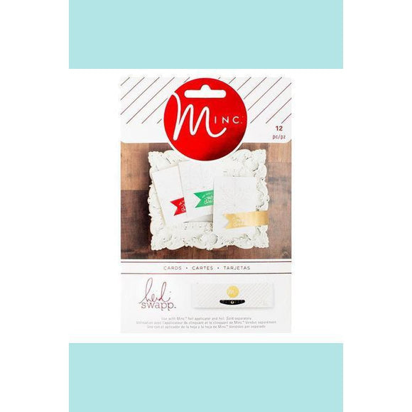 American Crafts - Heidi Swapp - Minc Christmas Cards