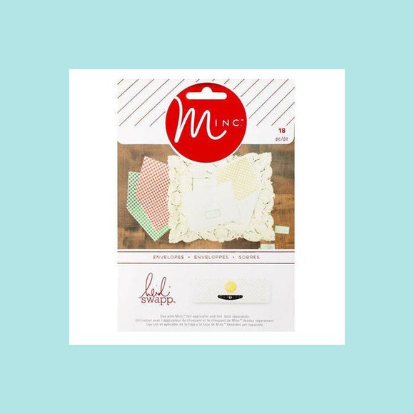 American Crafts - Heidi Swapp - Minc Christmas Envelopes
