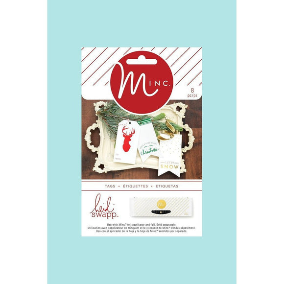 American Crafts - Heidi Swapp - Minc Christmas Tags