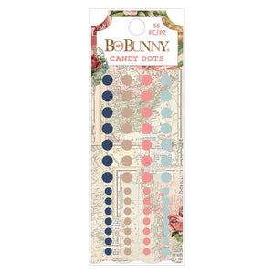 BoBunny - Embellishments - Family Heirlooms - Enamel Dots (56 pieces)