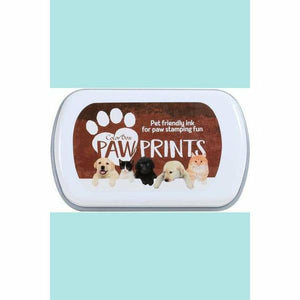 ColorBox Paw Prints Black