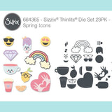 Sizzix - Thinlits Die Set 25PK - Spring Icons
