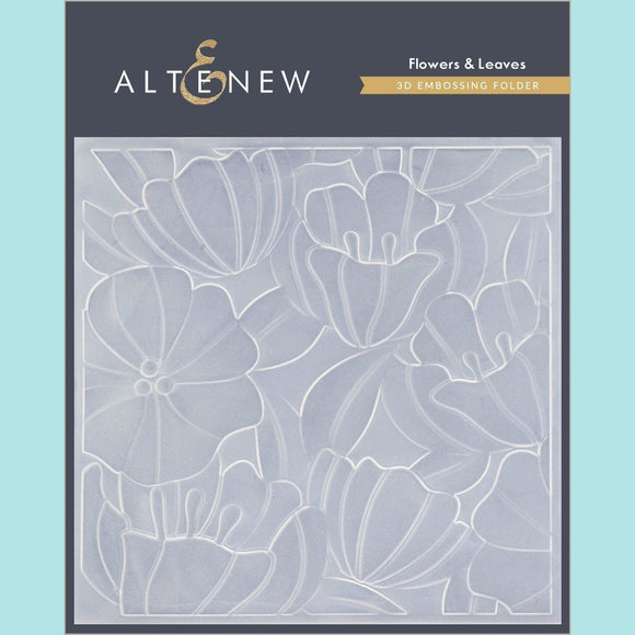 Altenew - Flowers & Leaves 3D Embossing Folder