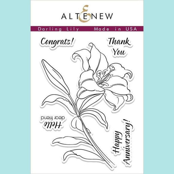 Altenew - Darling Lily Stamp Set