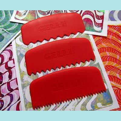 Gelli Arts - Round Edge Tools - Set of 3