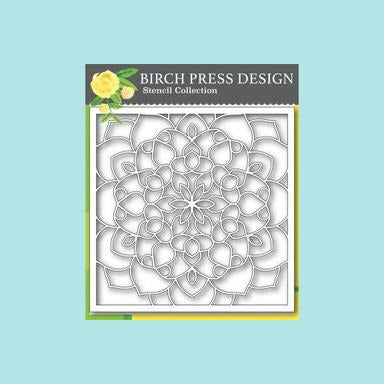 Birch Press - Midnight Mandala Stencil