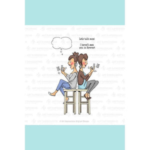 Art Impressions - Texting BFFs Stamp Set