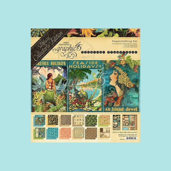 Graphic 45 - Tropical Travelogue - Deluxe Collector's Edition
