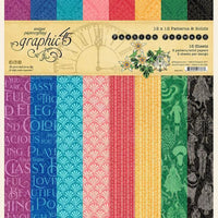 Graphic 45 - Fashion Forward 12x12 Patterns & Solid Pad