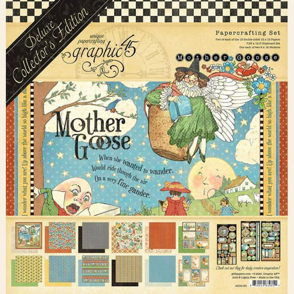 Graphic 45 - Mother Goose Deluxe Collector's Edition