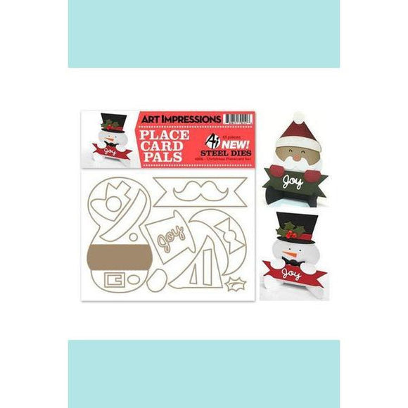 Art Impressions - Christmas Placecard Die Set