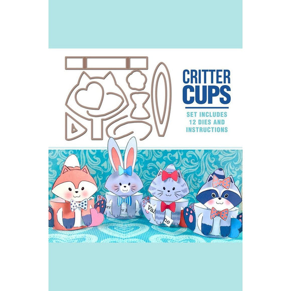 Art Impressions - Critter Cup Val/Eas Stamp and Die