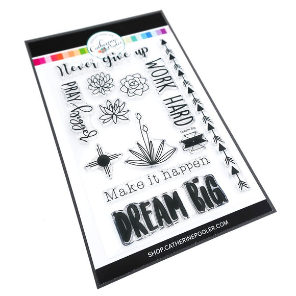 Catherine Pooler - Dream Big Sentiment Stamp Set