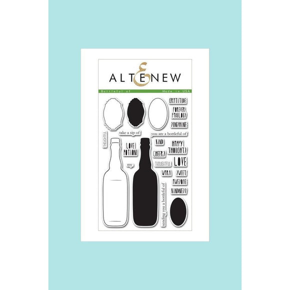 Altenew Bottleful Of Stamp Set