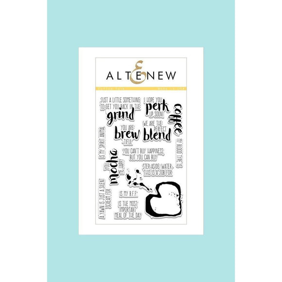 Altenew Stamp Coffee Talk