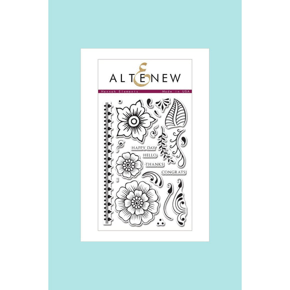 Altenew - Hennah Elements Stamp and Die