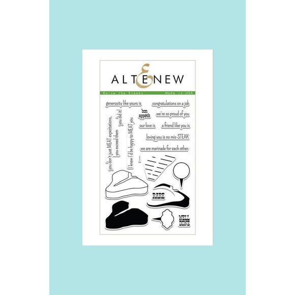Altenew Raise the Steaks Stamp Set