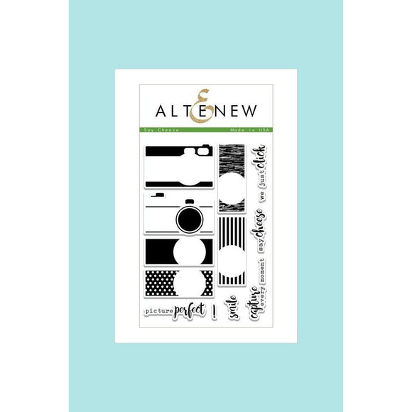 Altenew Say Cheese Stamp Set