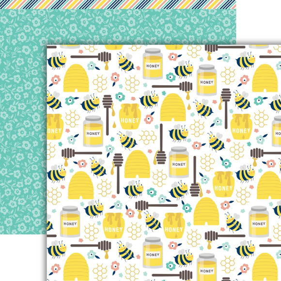 Dare 2B Artzy - Buzzy Beez Paper Pack (15 Sheets)