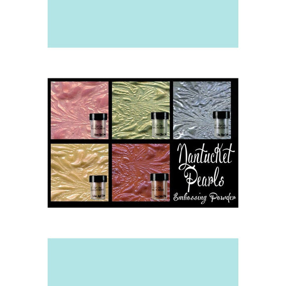 Lindy's Gang Nantucket Pearls Embossing Powder Set