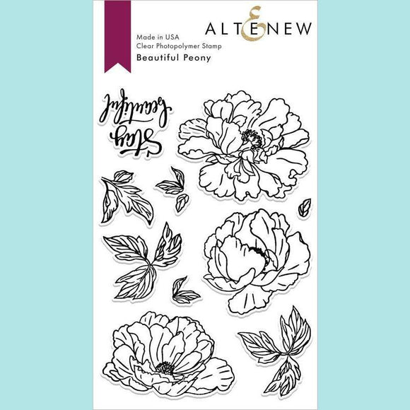 Altenew - Beautiful Peony Stamp and Die
